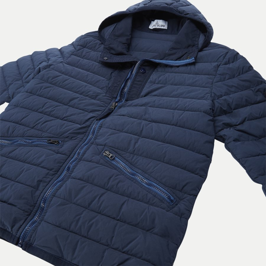 701543125 - Loom Woven Down Chambers Stretch Nylon Jacket - Jakker - Regular - DENIM - 6