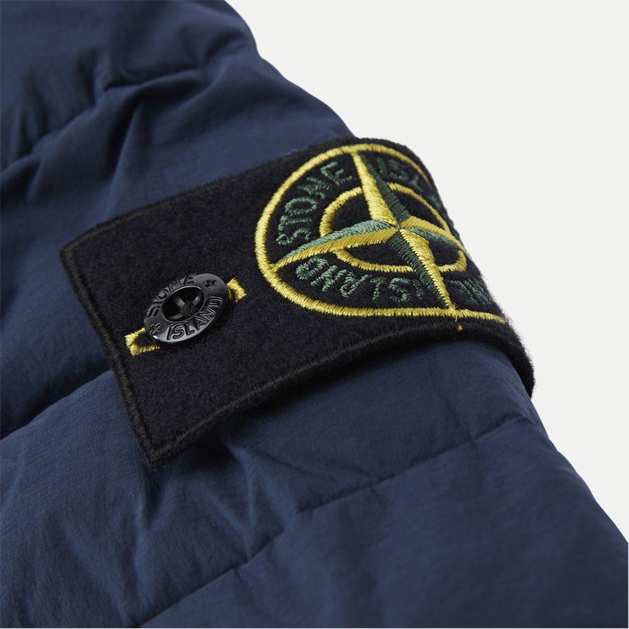 701543125 - Loom Woven Down Chambers Stretch Nylon Jacket - Jakker - Regular - DENIM - 7