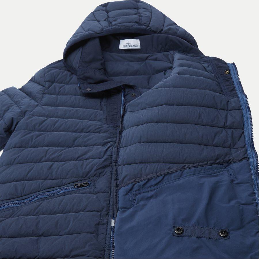 701543125 - Loom Woven Down Chambers Stretch Nylon Jacket - Jakker - Regular - DENIM - 9