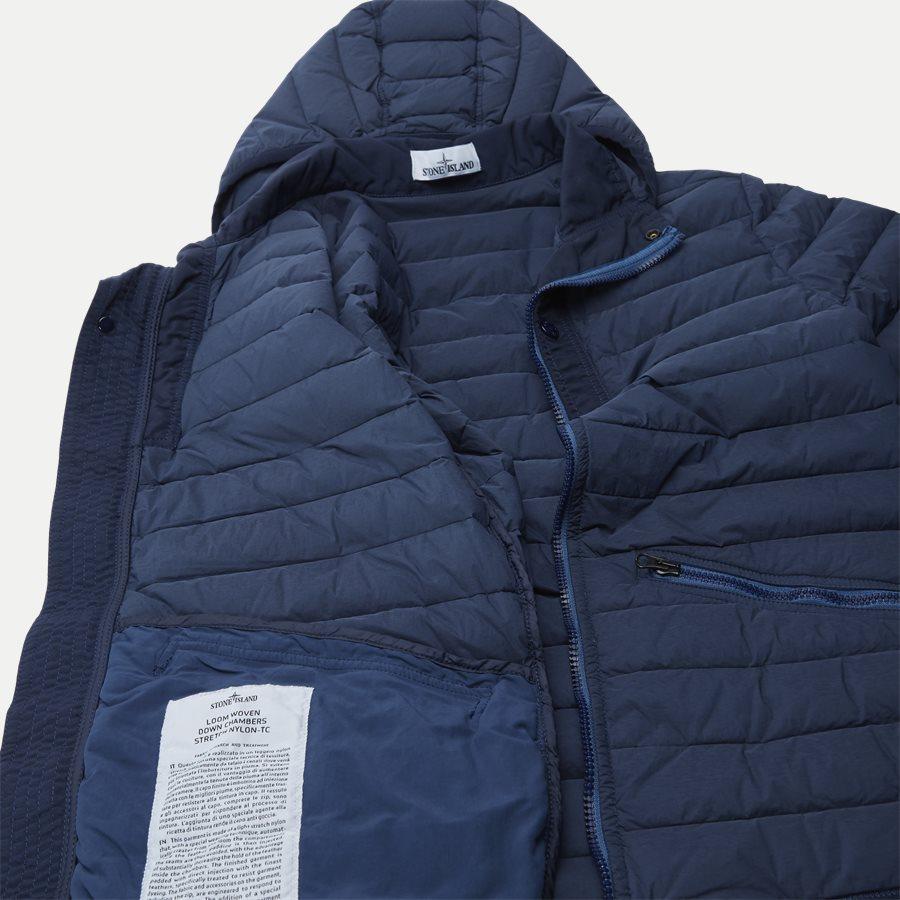 701543125 - Loom Woven Down Chambers Stretch Nylon Jacket - Jakker - Regular - DENIM - 10