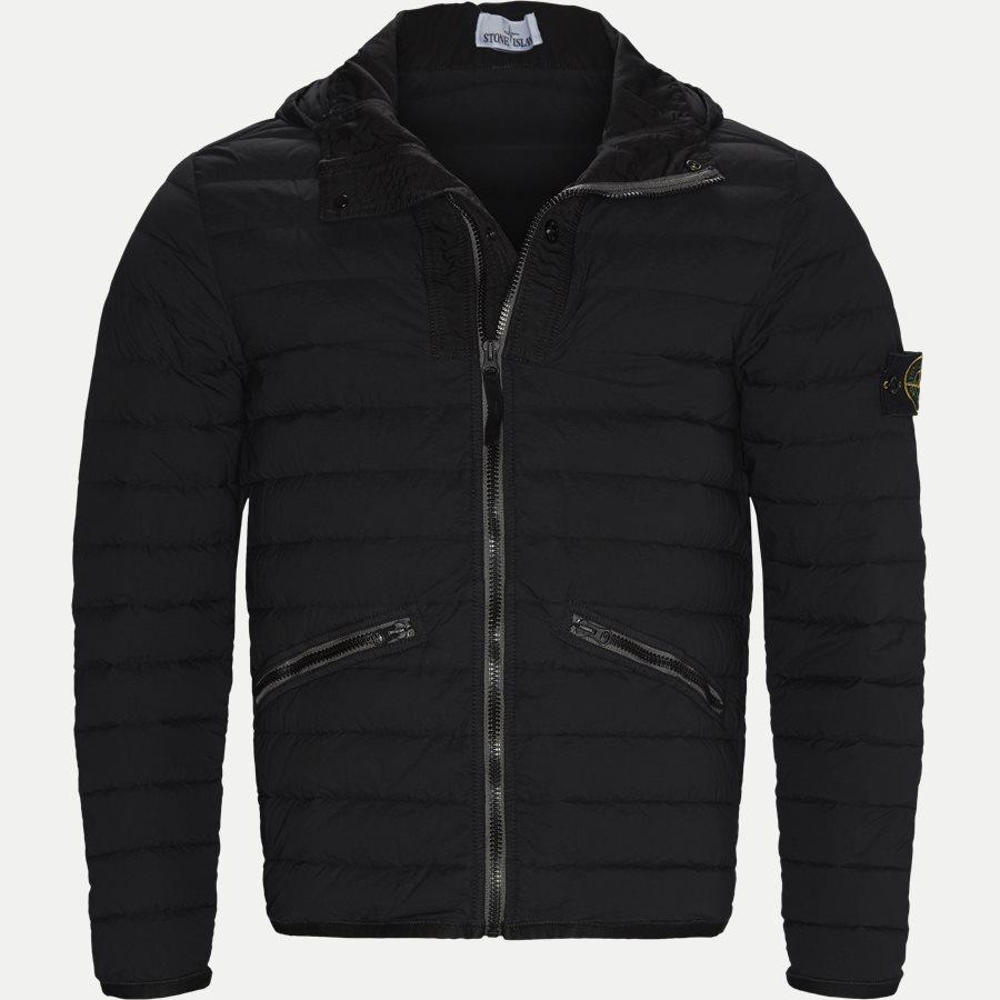 701543125 - Loom Woven Down Chambers Stretch Nylon Jacket - Jakker - Regular - SORT - 1
