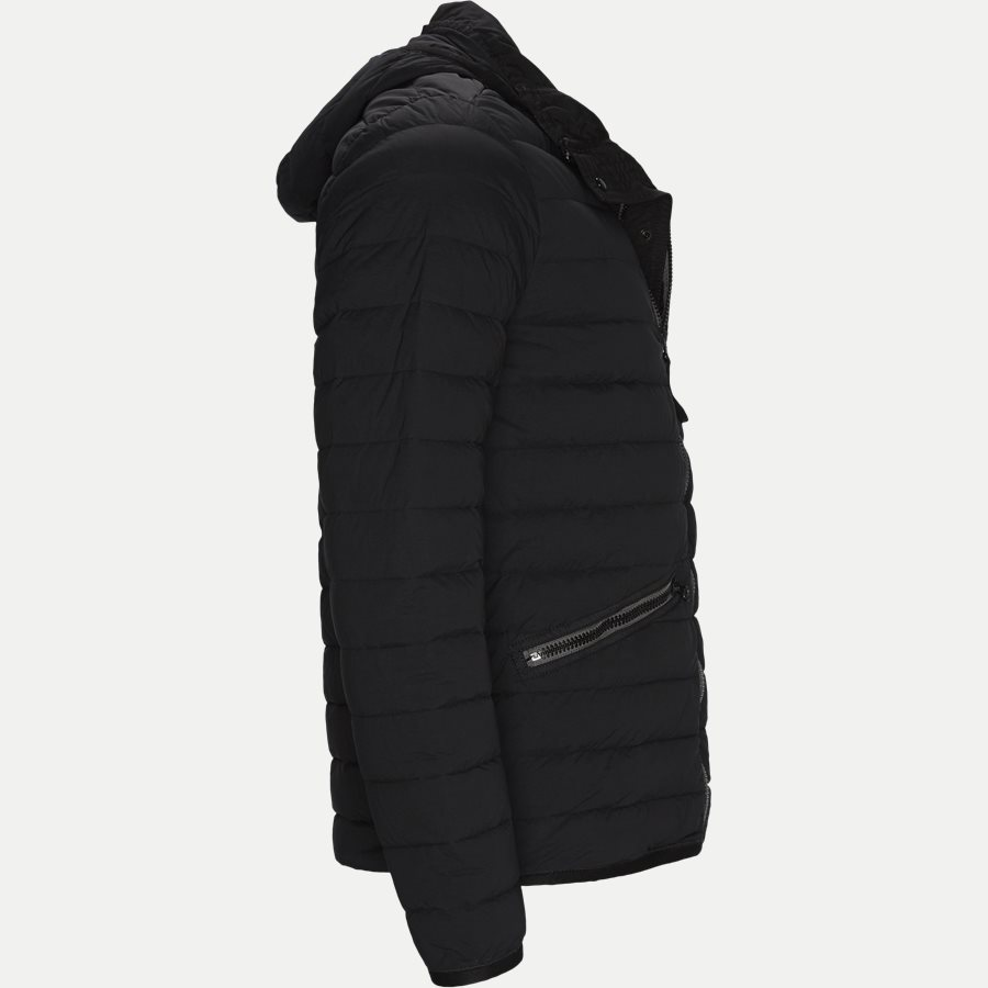 701543125 - Loom Woven Down Chambers Stretch Nylon Jacket - Jakker - Regular - SORT - 4