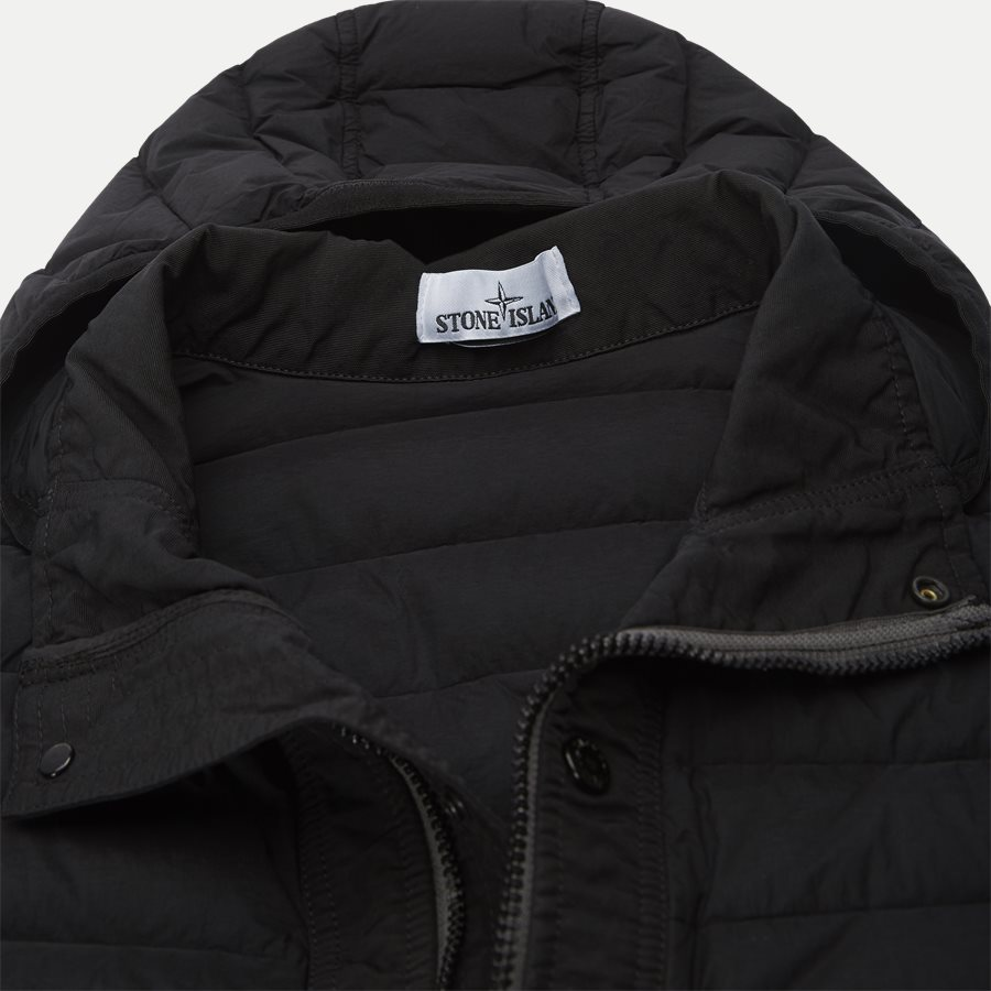 701543125 - Loom Woven Down Chambers Stretch Nylon Jacket - Jakker - Regular - SORT - 5