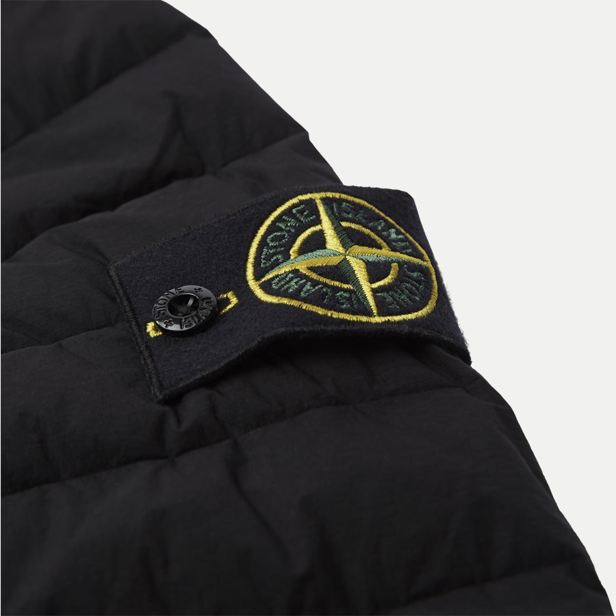 701543125 - Loom Woven Down Chambers Stretch Nylon Jacket - Jakker - Regular - SORT - 7