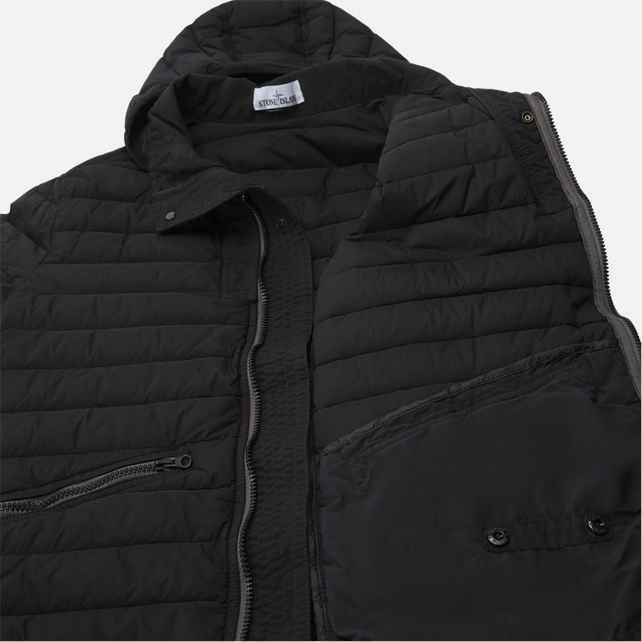701543125 - Loom Woven Down Chambers Stretch Nylon Jacket - Jakker - Regular - SORT - 9