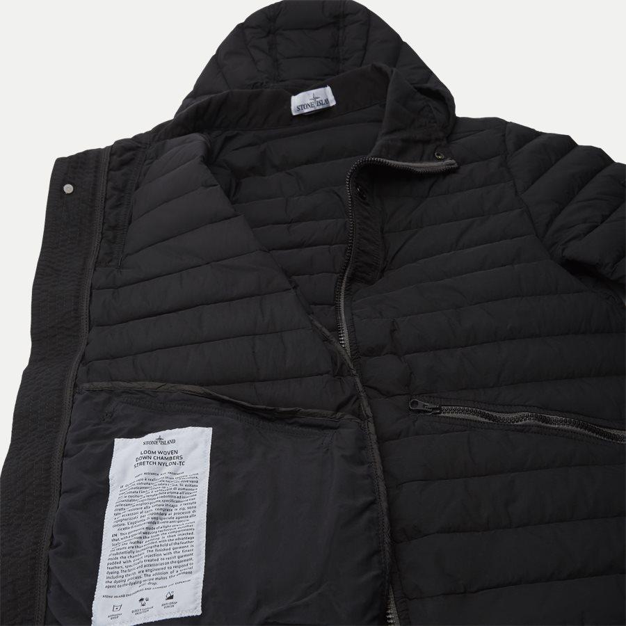 701543125 - Loom Woven Down Chambers Stretch Nylon Jacket - Jakker - Regular - SORT - 10