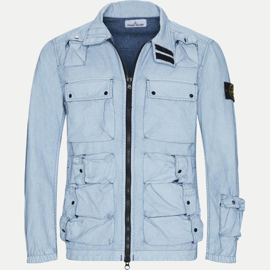 701543764 - Canvas Jacket - Jakker - Regular - DENIM - 1