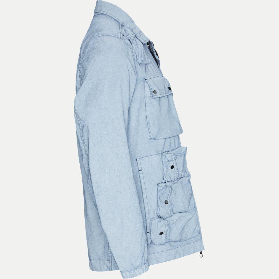 701543764 - Canvas Jacket - Jakker - Regular - DENIM - 4
