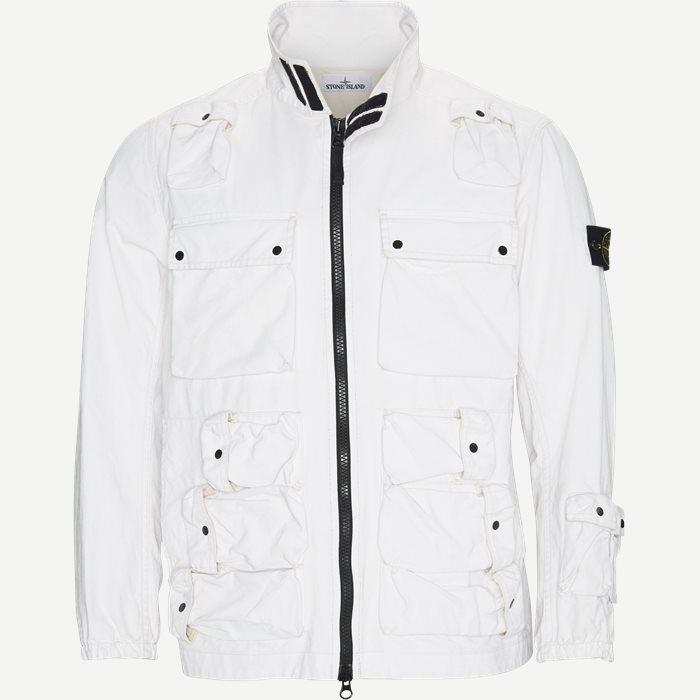 Canvas Jacket - Jakker - Regular - Hvid