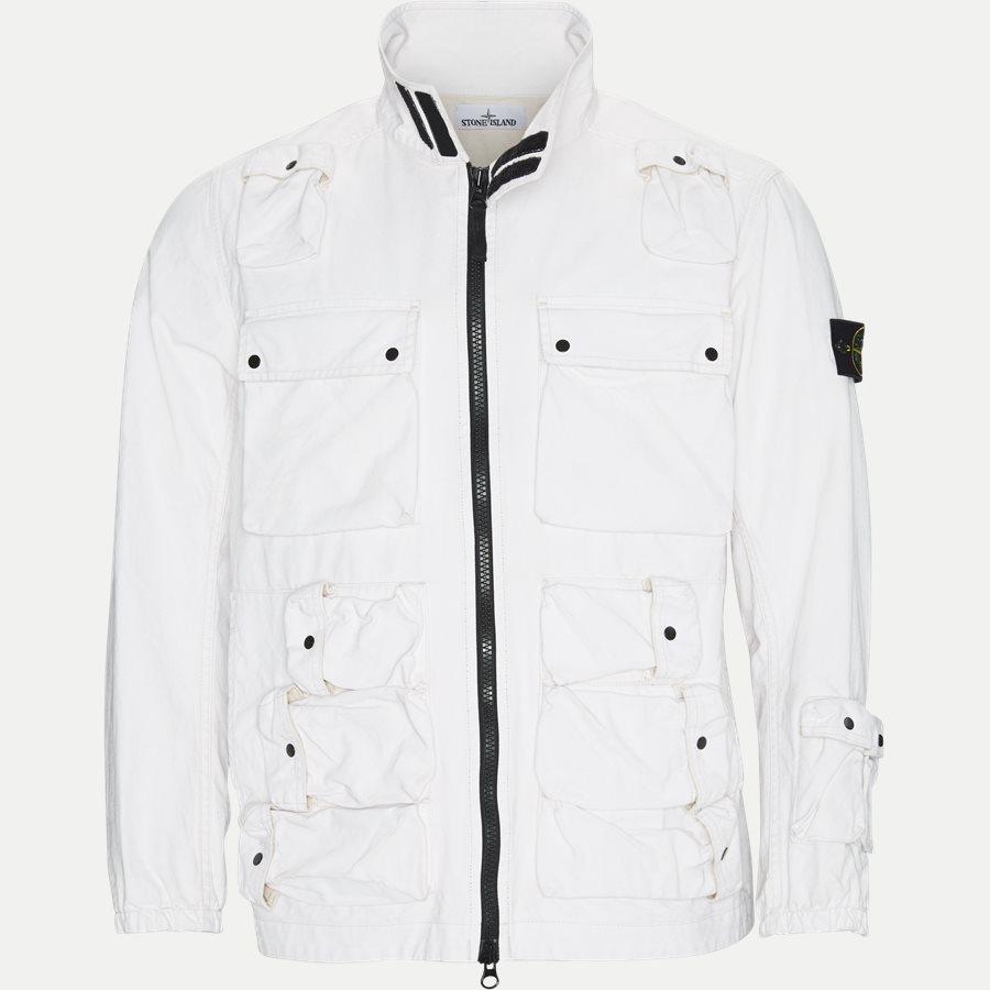 701543764 - Canvas Jacket - Jakker - Regular - HVID - 1