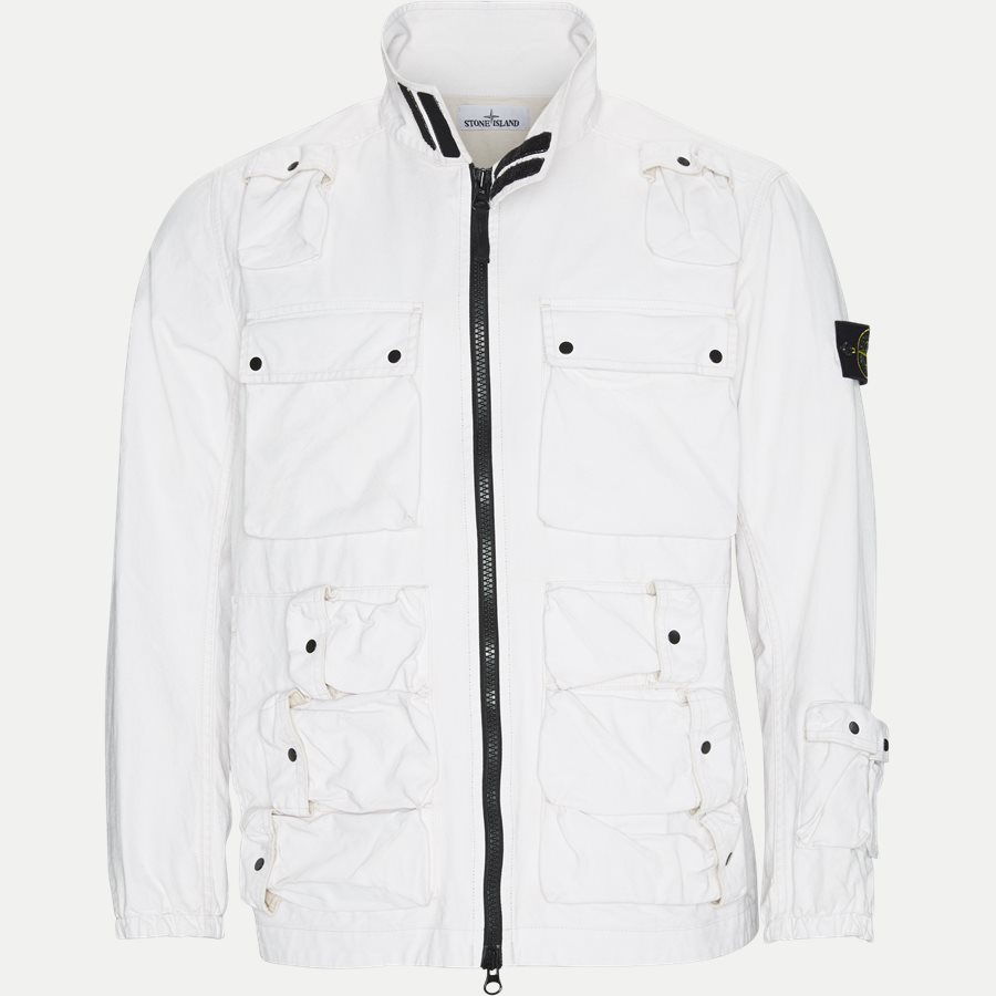 701543764 - Canvas Jacket - Jakker - Regular - HVID - 1