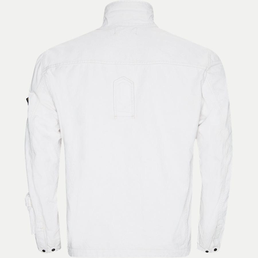 701543764 - Canvas Jacket - Jakker - Regular - HVID - 2