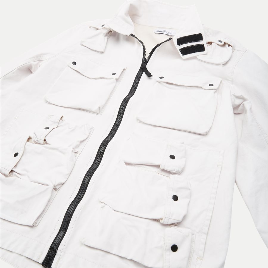 701543764 - Canvas Jacket - Jakker - Regular - HVID - 6