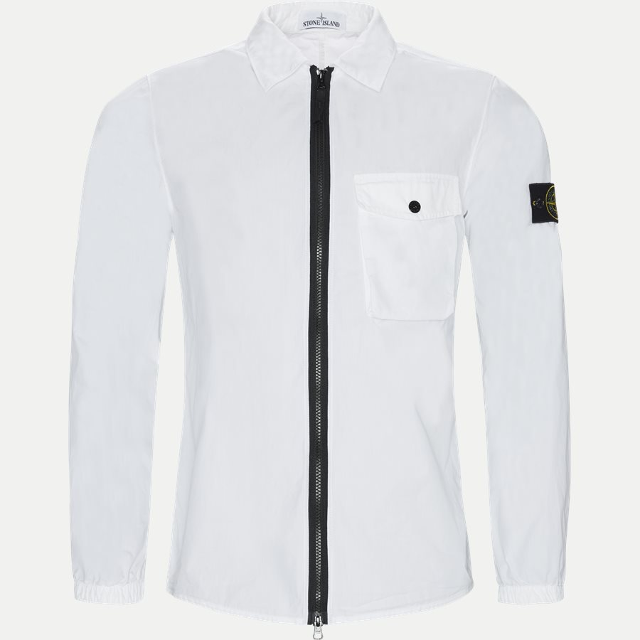 701513108 - Full Zip Skjorte  - Skjorter - Regular - HVID - 1