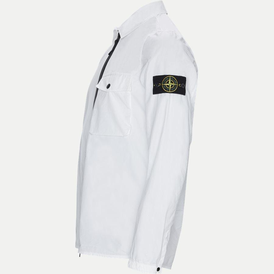 701513108 - Full Zip Skjorte  - Skjorter - Regular - HVID - 3