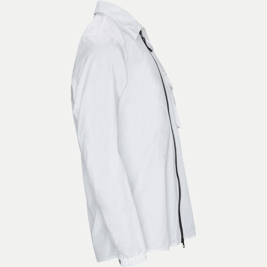 701513108 - Full Zip Skjorte  - Skjorter - Regular - HVID - 4