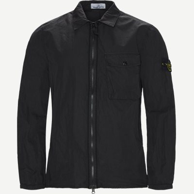 Full Zip Skjorte  Regular | Full Zip Skjorte  | Sort