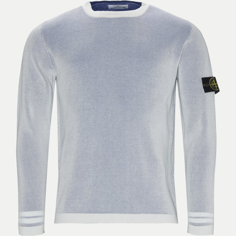 7015554A7 - Crew Neck Striktrøje - Strik - Regular - HVID - 1