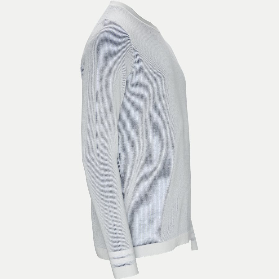 7015554A7 - Sweatshirt - Strik - Regular - HVID - 4