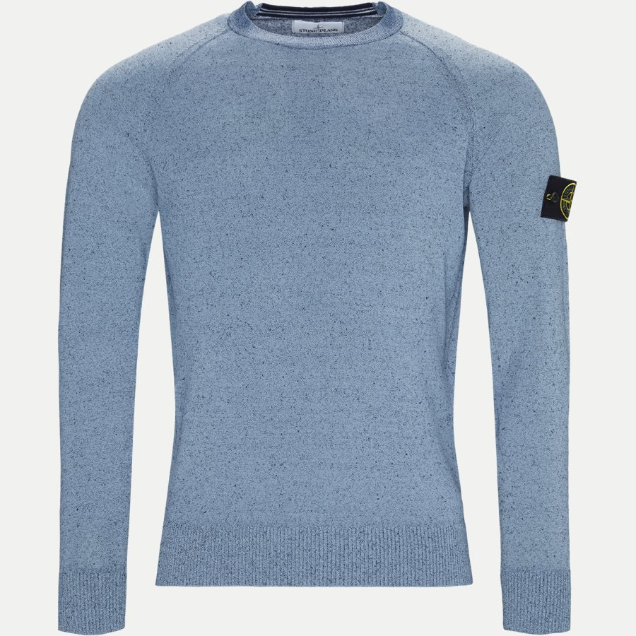 7015545A6 - Crew Neck Striktrøje - Strik - Regular - NAVY - 1