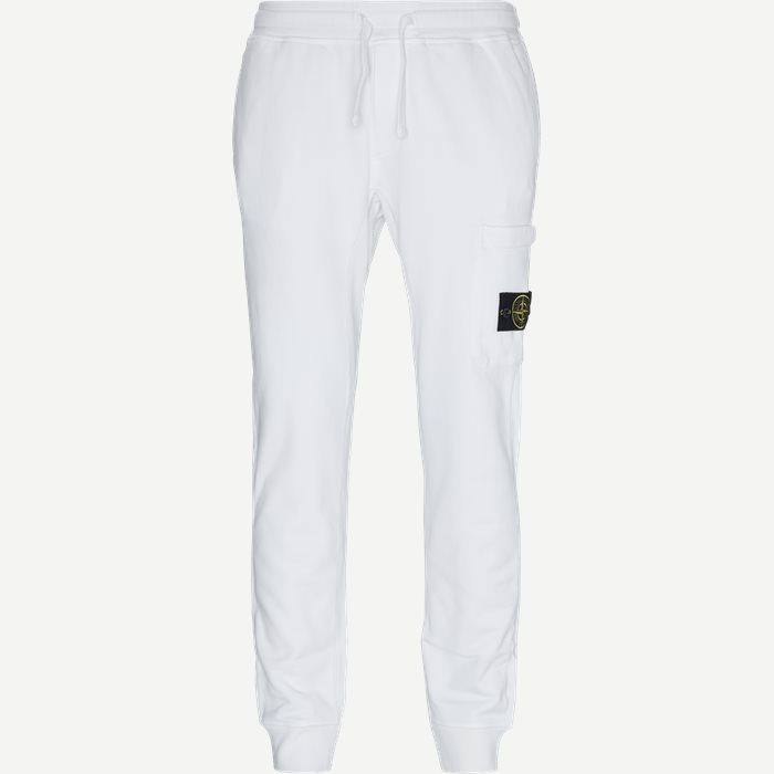 Fleece Sweatpants - Bukser - Regular - Hvid