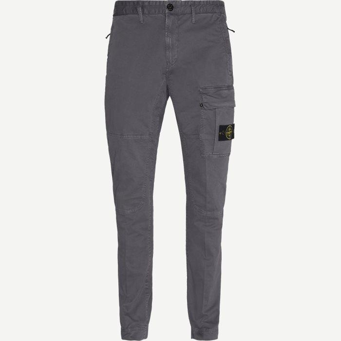 Cargo Pants - Bukser - Regular - Grå
