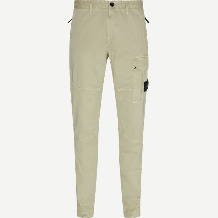 Old Dye Treatment Cargo Pants - Bukser - Regular - Sand