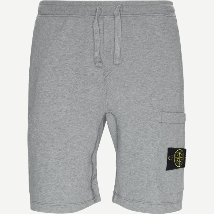Jersey Shorts - Shorts - Regular - Grå