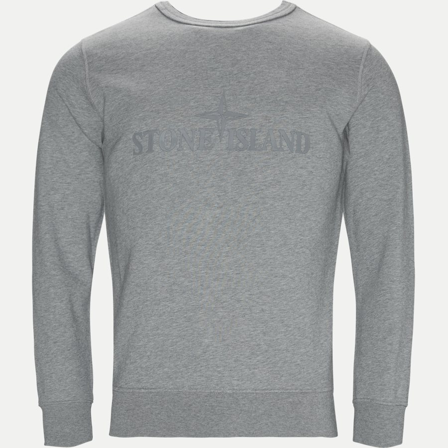 701560151 - Fleece Crew Neck Sweatshirt - Sweatshirts - Regular - GRÅ - 1