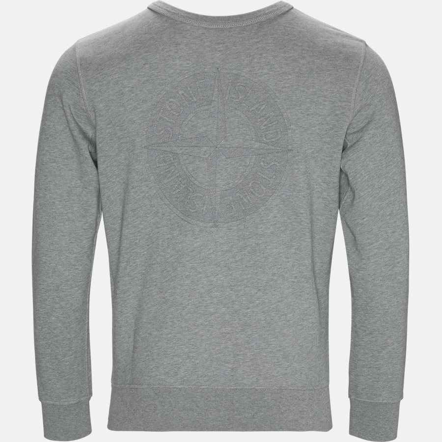 701560151 - Fleece Crew Neck Sweatshirt - Sweatshirts - Regular - GRÅ - 2