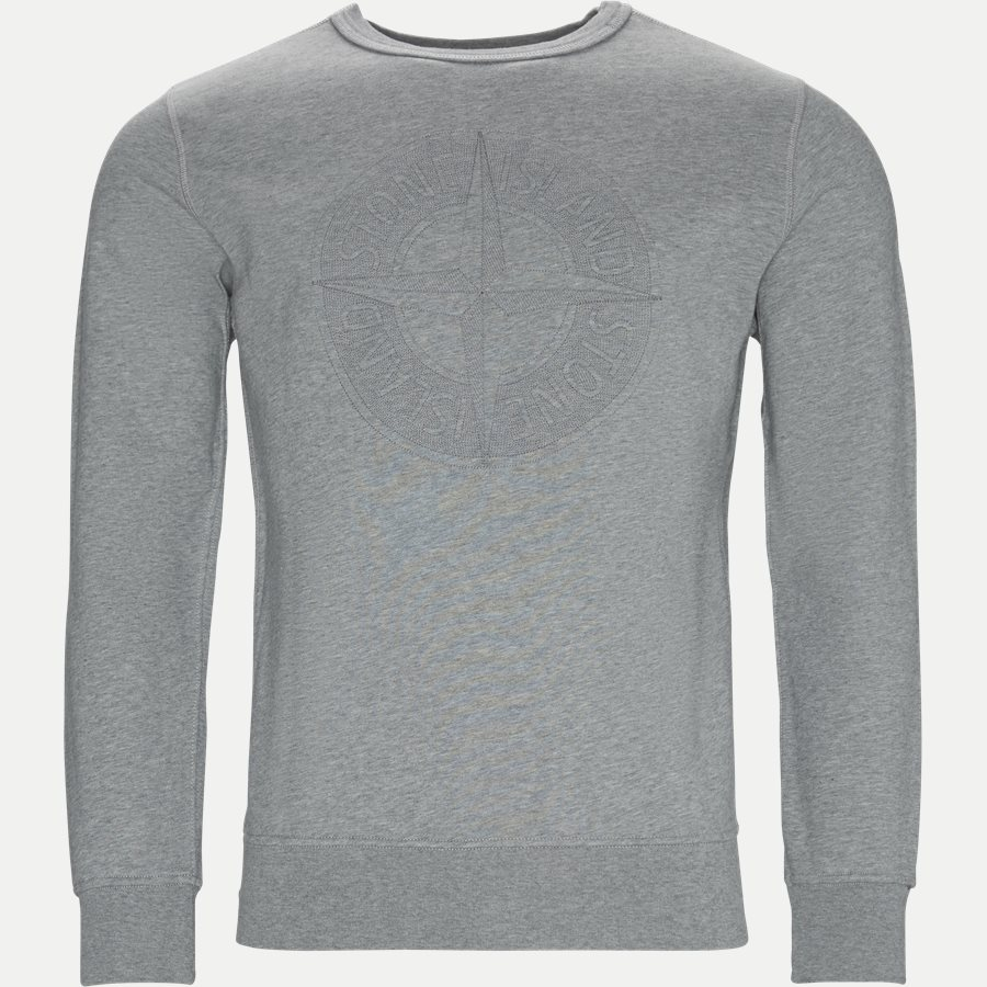 701560151 - Fleece Crew Neck Sweatshirt - Sweatshirts - Regular - GRÅ - 3