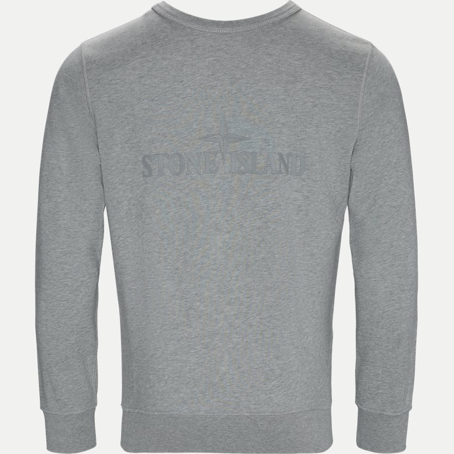 701560151 - Fleece Crew Neck Sweatshirt - Sweatshirts - Regular - GRÅ - 4