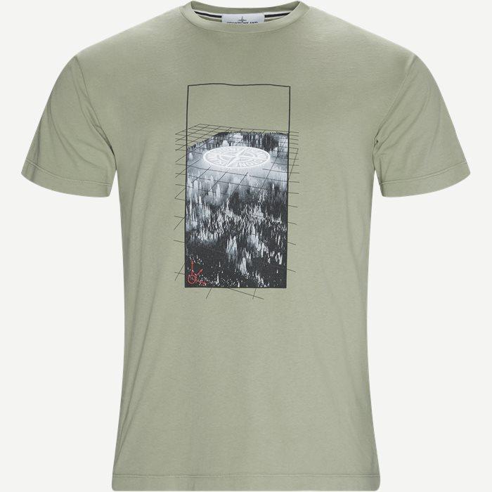 Logo Tee - T-shirts - Regular - Army
