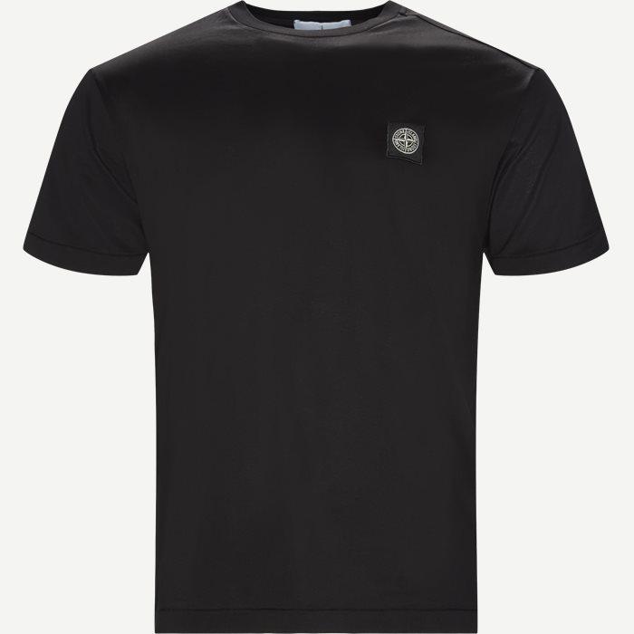 Crew-neck T-shirt - T-shirts - Regular - Sort
