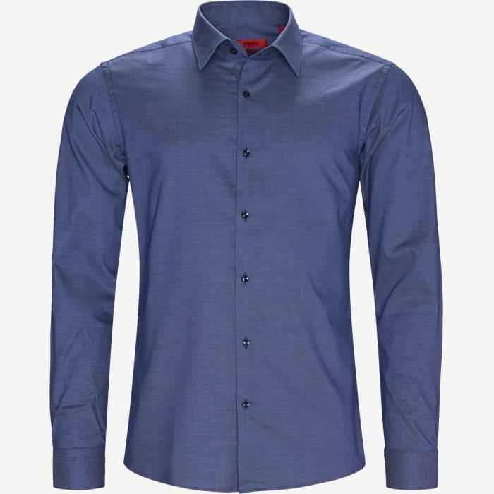 Kenno Skjorte - Skjorter - Blå