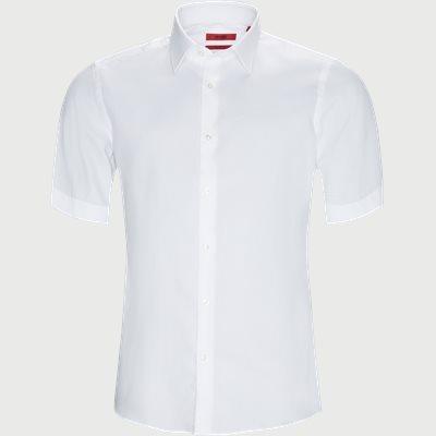 Venzino Kortærmet Skjorte Regular | Venzino Kortærmet Skjorte | Hvid