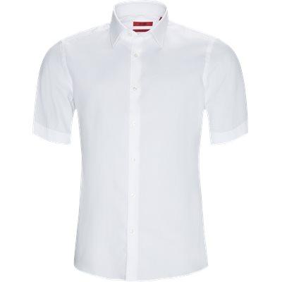 Regular | Kurzärmlige Hemden | Weiß