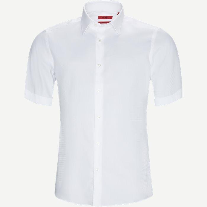 Venzino Kortærmet Skjorte - Kortærmede skjorter - Regular - Hvid