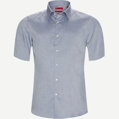 Venzino Kortærmet Skjorte Regular | Venzino Kortærmet Skjorte | Blå