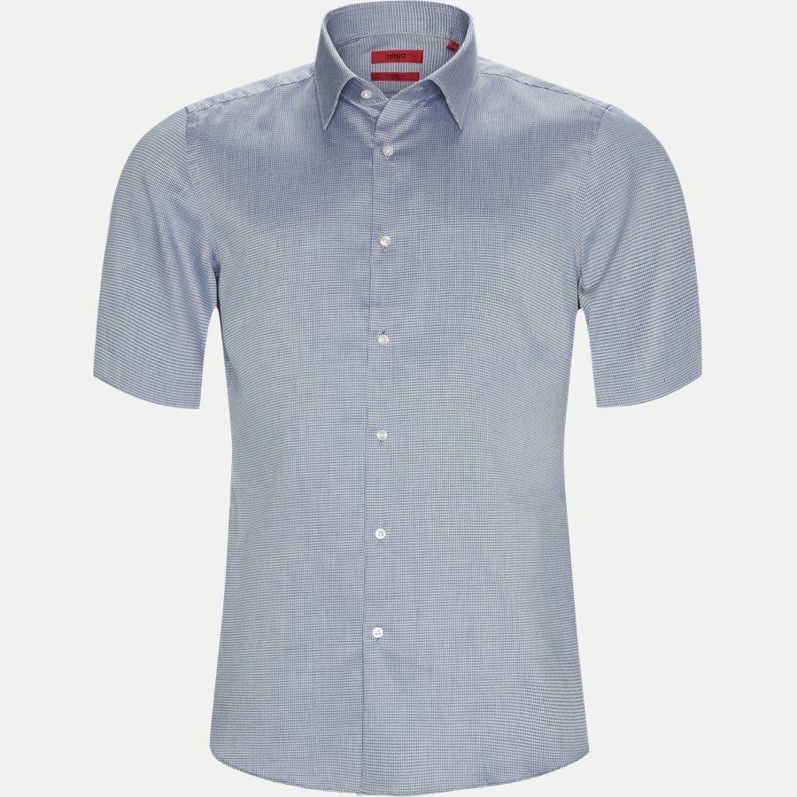 50388484 VENZINO - Venzino Kortærmet Skjorte - Skjorter - Regular - NAVY - 1