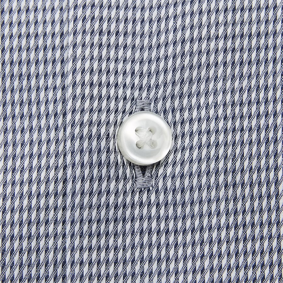 50388484 VENZINO - Venzino Kortærmet Skjorte - Skjorter - Regular - NAVY - 4