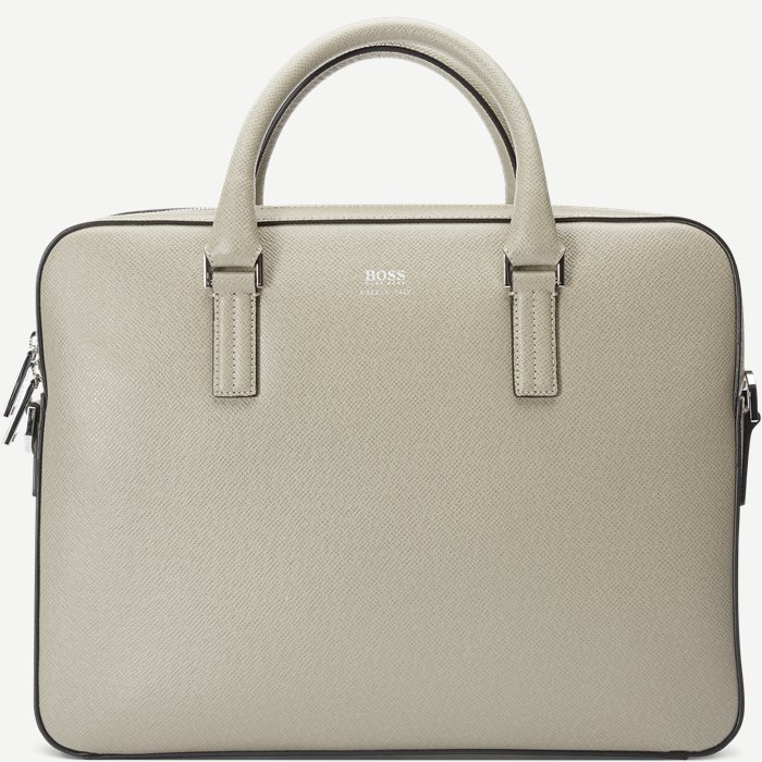 Signature_Slim Bag - Bags - Sand