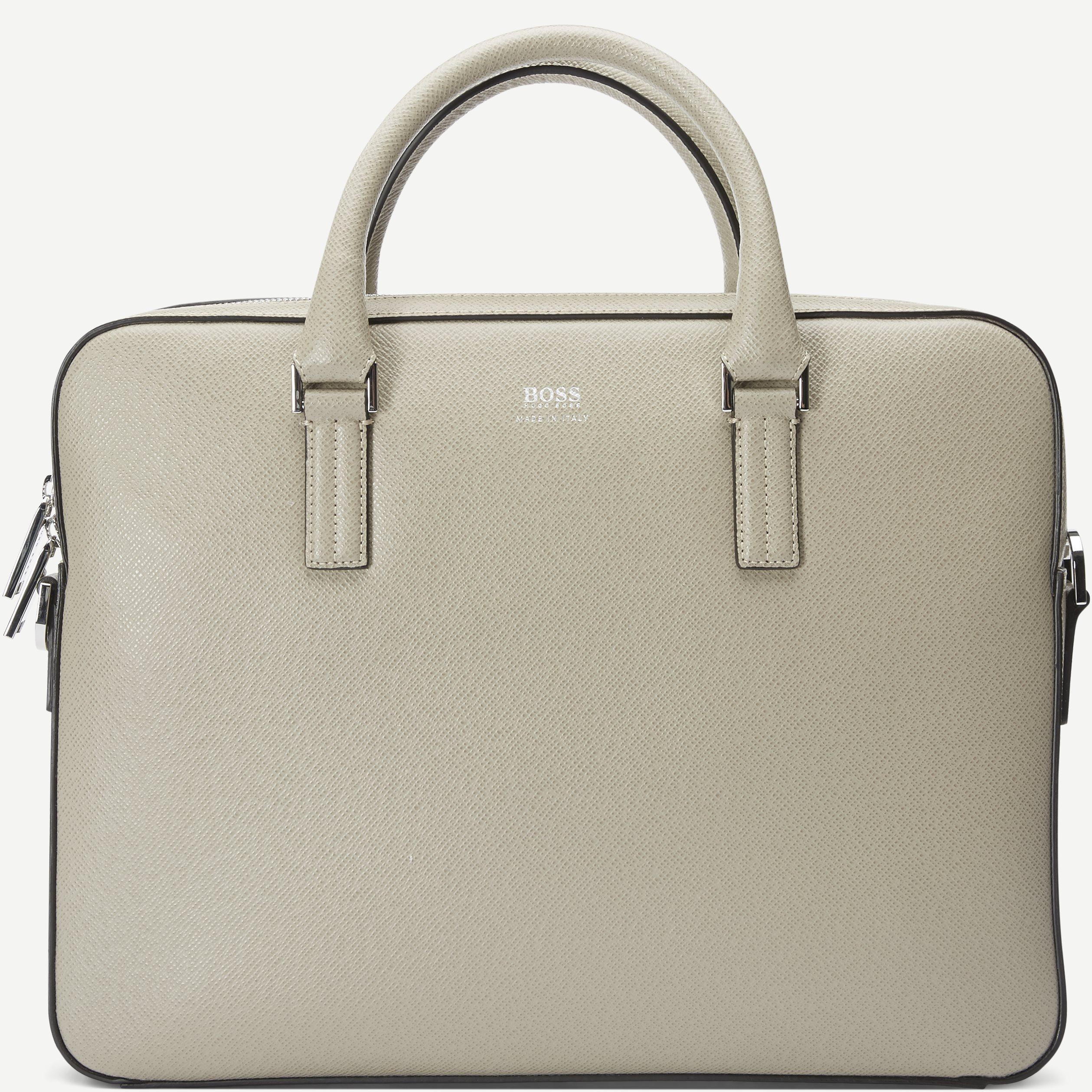 Signature_Slim Bag - Väskor - Sand