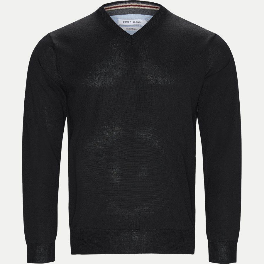SMARALDA - Knitwear - Regular - BLACK - 1