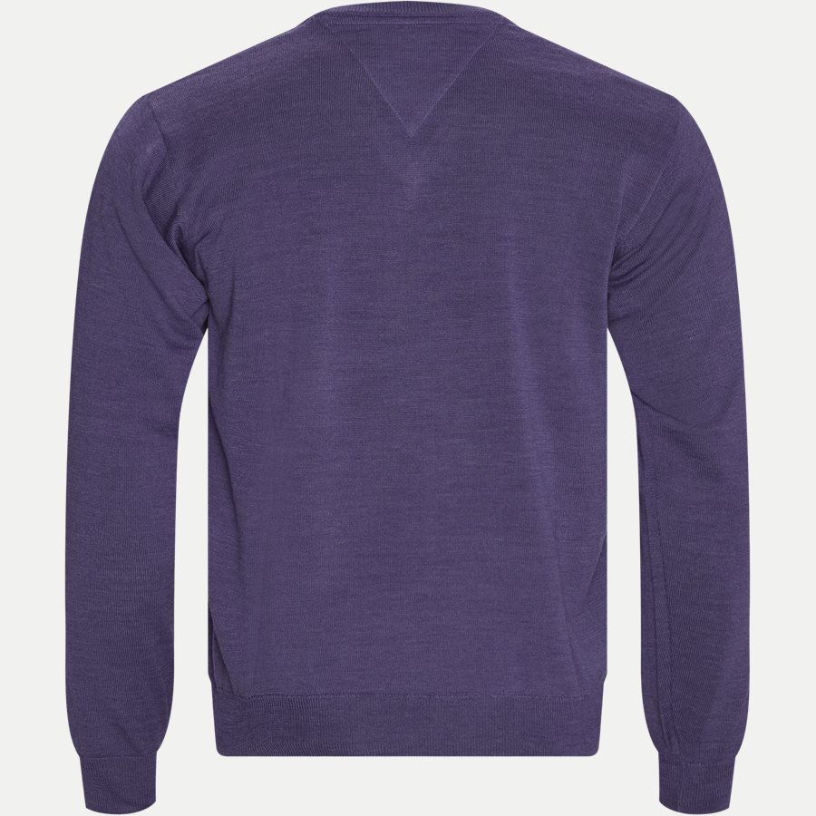 SMARALDA - Smaralda V-Neck Striktrøje - Strik - Regular - PURPLE - 2