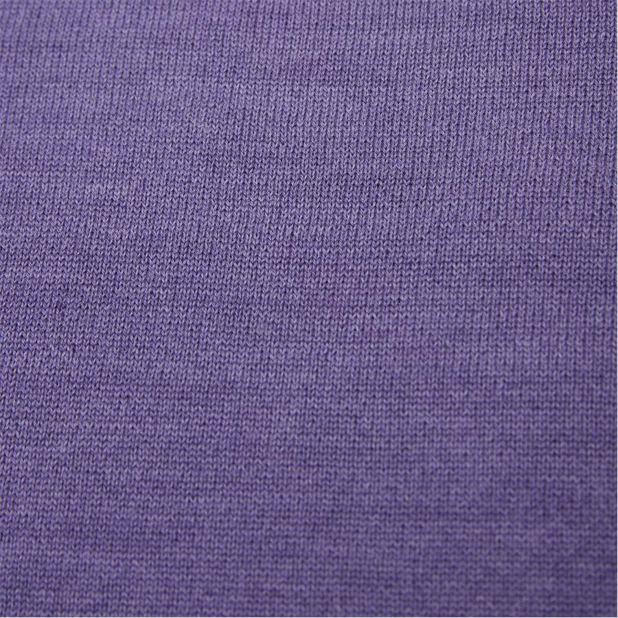 SMARALDA - Smaralda V-Neck Striktrøje - Strik - Regular - PURPLE - 4