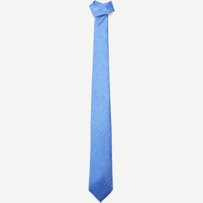 Krawatten - Jeans-Blau