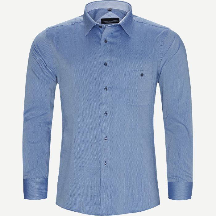 Shirts - Regular - Blue