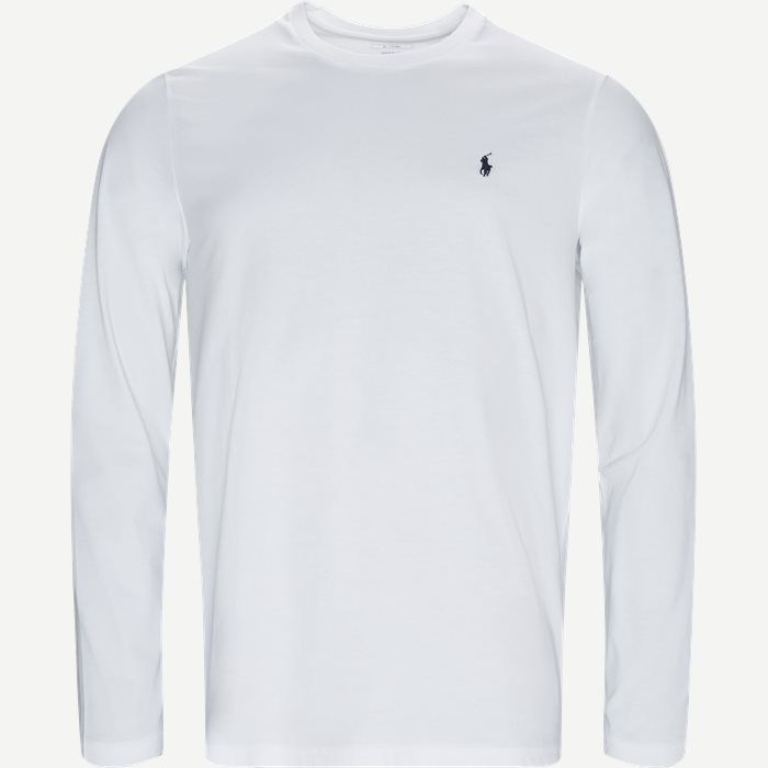 Long Sleeve Tee - T-shirts - Regular - Hvid