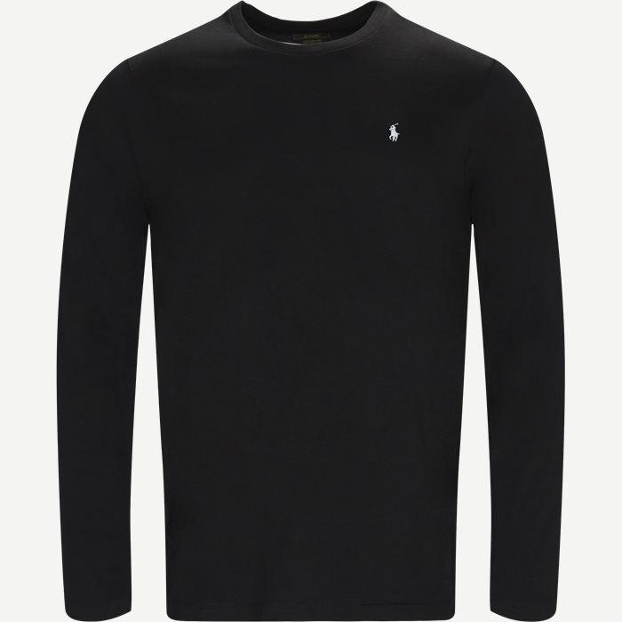 Long Sleeve Tee - T-shirts - Regular - Sort